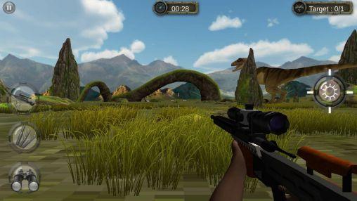 Actionspiele Jurassic hunt 3D für das Smartphone