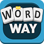 Word way: Brain letters game Symbol