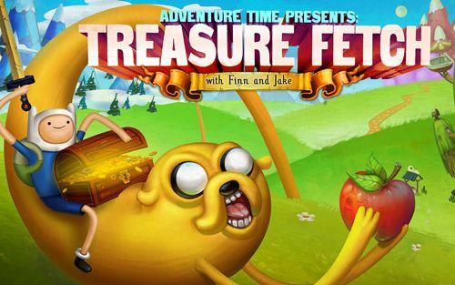 logo Adventure Time: Schatzfang