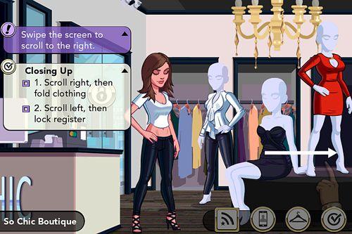 Screenshot Kim Kardashian: Hollywood auf dem iPhone