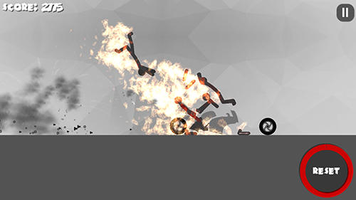 Stickman dismount 3: Heroes for Android