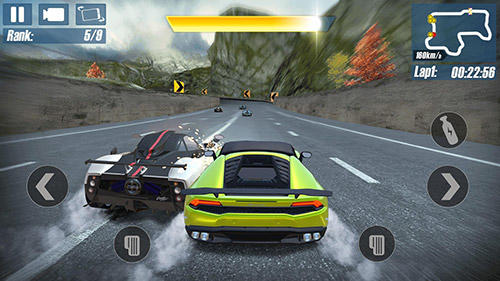 Real road racing: Highway speed chasing game for Android