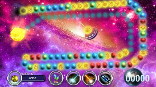Zuma games Planet Zum: Balls line in English