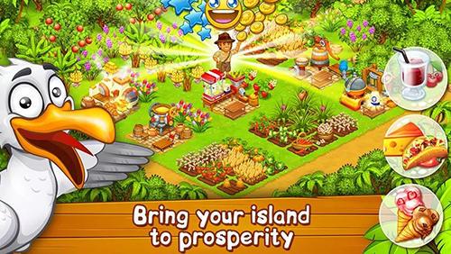 Farm zoo: Bay island village для Android