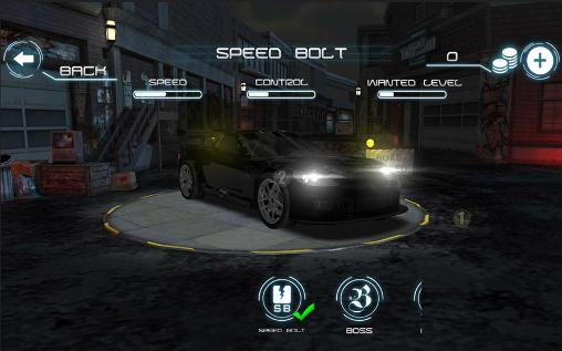 Rennspiele Mafia Racing 3D für das Smartphone