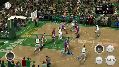 Multiplayer games: download NBA 2K16 to your phone