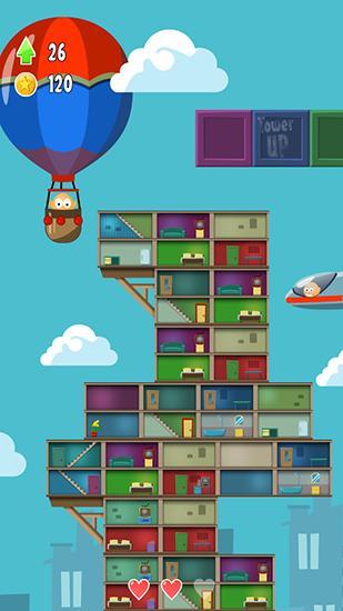 Arcade-Spiele Tower up für das Smartphone