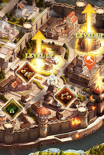 Heroes of empires: Age of war für Android