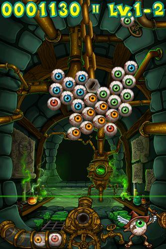 Screenshot Eyegore's Eye Blast auf dem iPhone