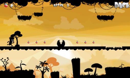 Arcade-Spiele Jumping shadows für das Smartphone
