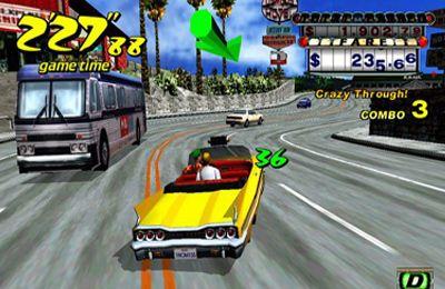 Screenshot Verrücktes Taxi auf dem iPhone