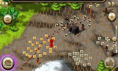 Strategie: spiel The Settlers HD für BlackBerry