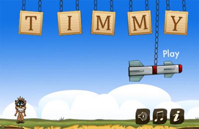 logo Timmy y un mono insultante