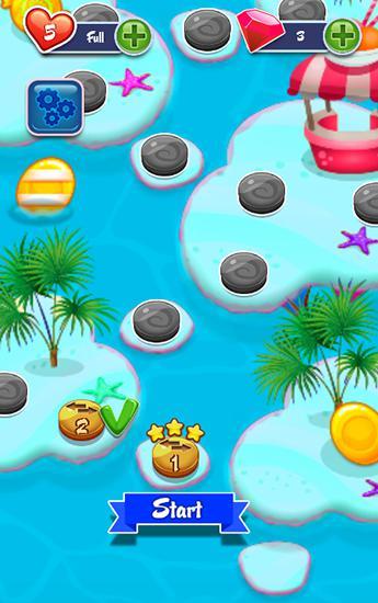 3 Gewinnt-Spiele Crush my jelly auf Deutsch