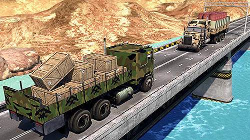 Simulator-Spiele US army truck simulator für das Smartphone