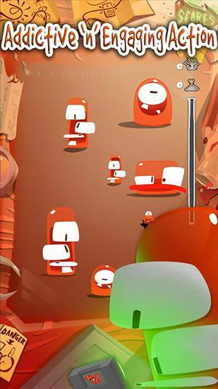 Arcade Jelly lab für das Smartphone