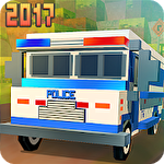 Blocky San Andreas police 2017 ícone