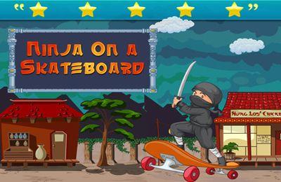 logo Ninja Skateboardeur