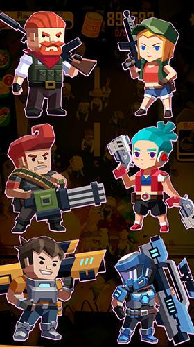 Action Dead spreading: Idle game 2 für das Smartphone
