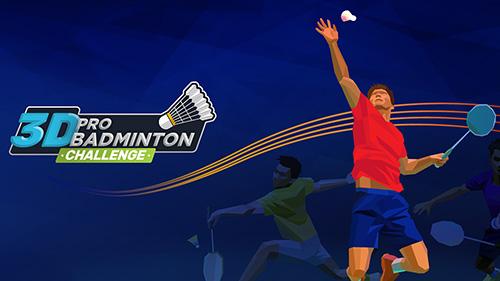 3D pro badminton challenge Symbol