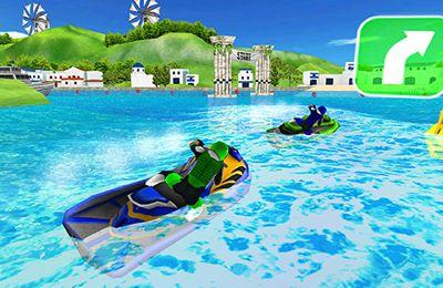 Aqua Moto Racing 2 for iPhone for free