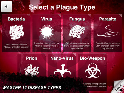 Plague inc for iPhone