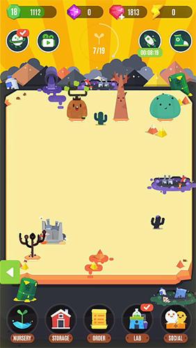 Arcade-Spiele Pocket plants für das Smartphone