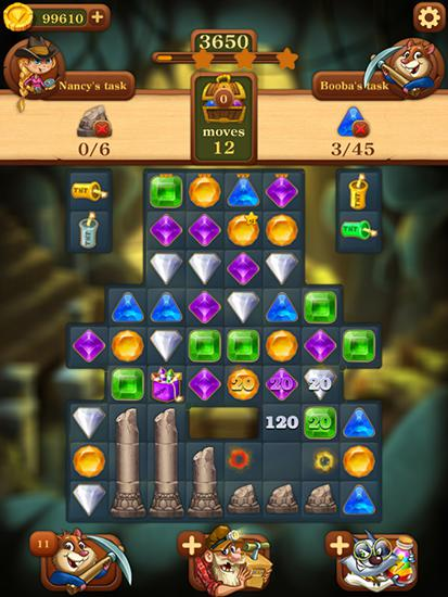 Jewels: To the center of Earth for Android