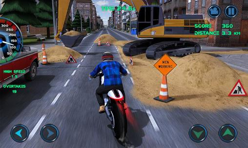 Moto traffic race для Android