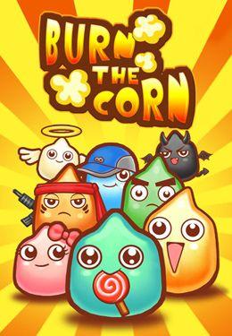 logo Burn the corn
