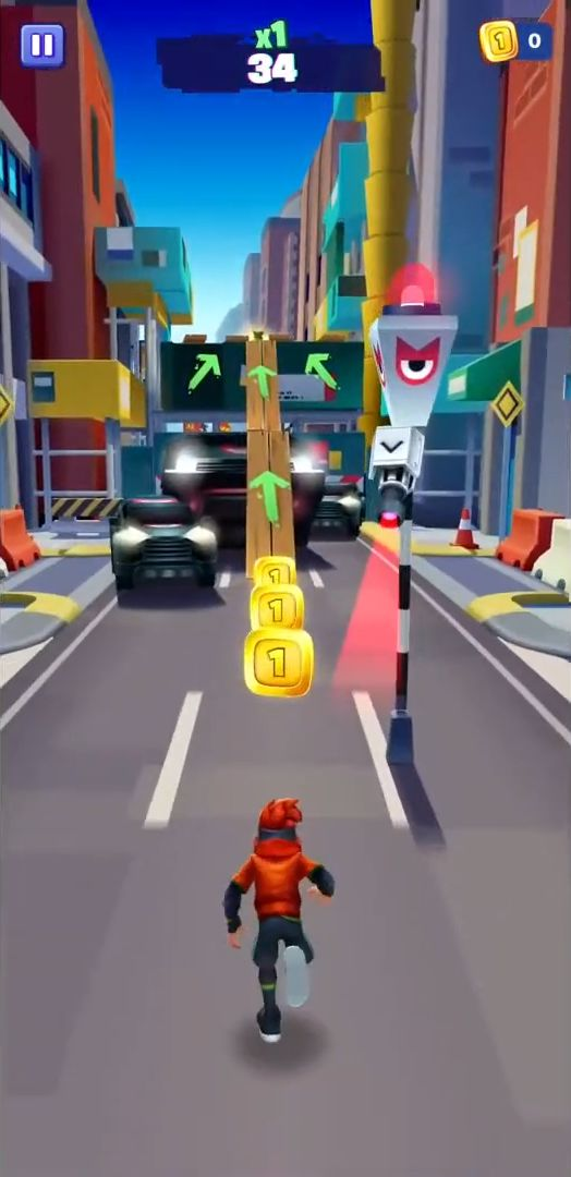 MetroLand - Endless Arcade Runner for Android