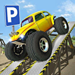 Obstacle course: Car parking sim icon