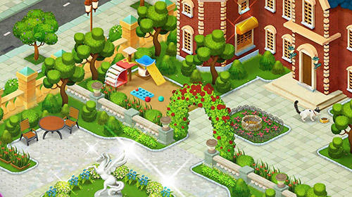 Town story: Match 3 puzzle скриншот 4