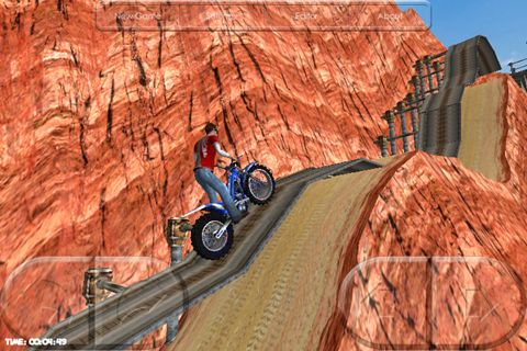 Arcade games: download Motorbike to your phone