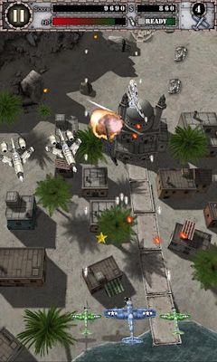 Flying games AirAttack HD in English