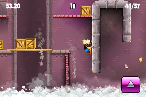 Screenshot Stunt Gal auf dem iPhone