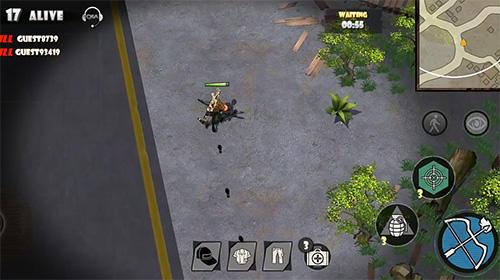 Juegos de acción Battleground Z para teléfono inteligente
