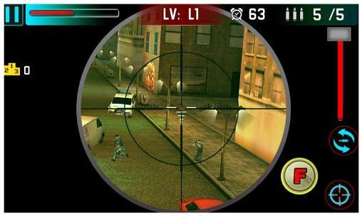 Sniper Sniper shoot war auf Deutsch