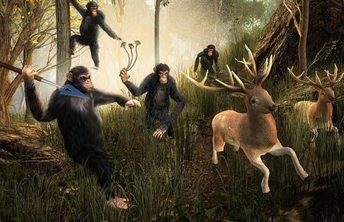 Life of apes: Jungle survival скріншот 1