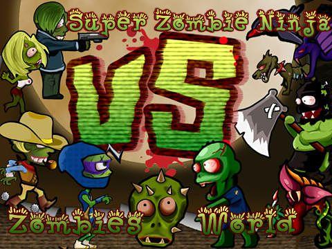 logo Super Zombie Ninja vs. Zombies World