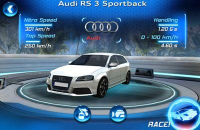 Asphalt Audi RS 3 in Russian
