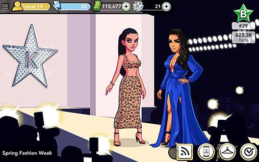de célébrités Kim Kardashian: Hollywood en français