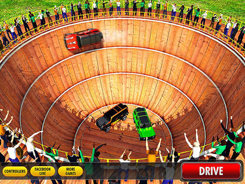 Well of death Prado stunt ride pour Android
