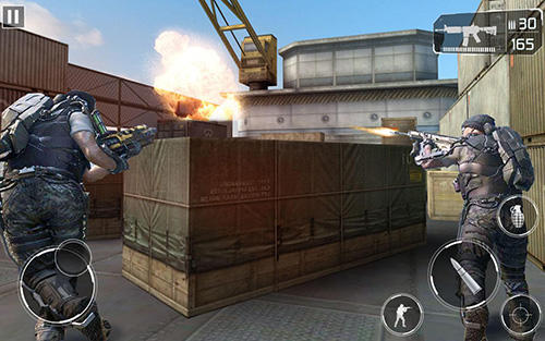 Army frontline shooting strike mission force 3D für Android