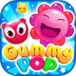 Gummy pop: Chain reaction game Symbol