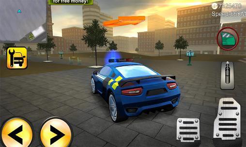 Police agent vs mafia driver für Android