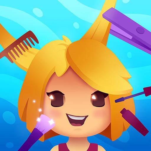 アイコン Idle Beauty Salon: Hair and nails parlor simulator