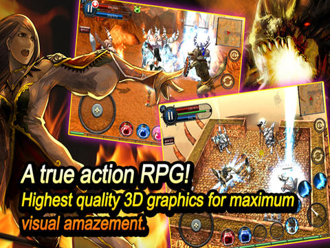 РПГ: Dragon Slayers на телефон iOS