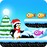 Polar penguin run Symbol