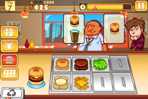 Wirtschaftsspiele Burger Queen auf Deutsch